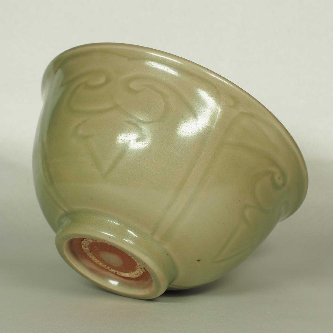 Longquan Bowl with Incised Design, Ming Dynasty - 5