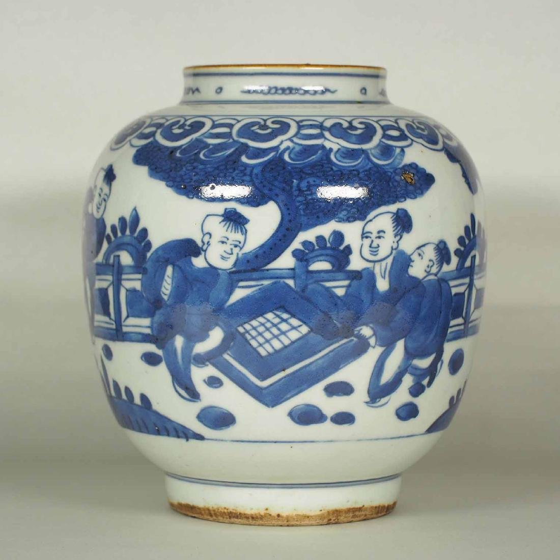 Jar with Figures, Wanli, Ming Dynasty