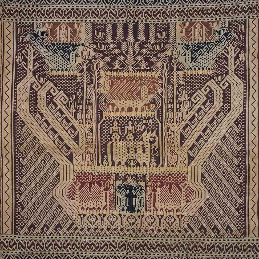 Old Carpet with Typical Lampung Design, Lampung - 2