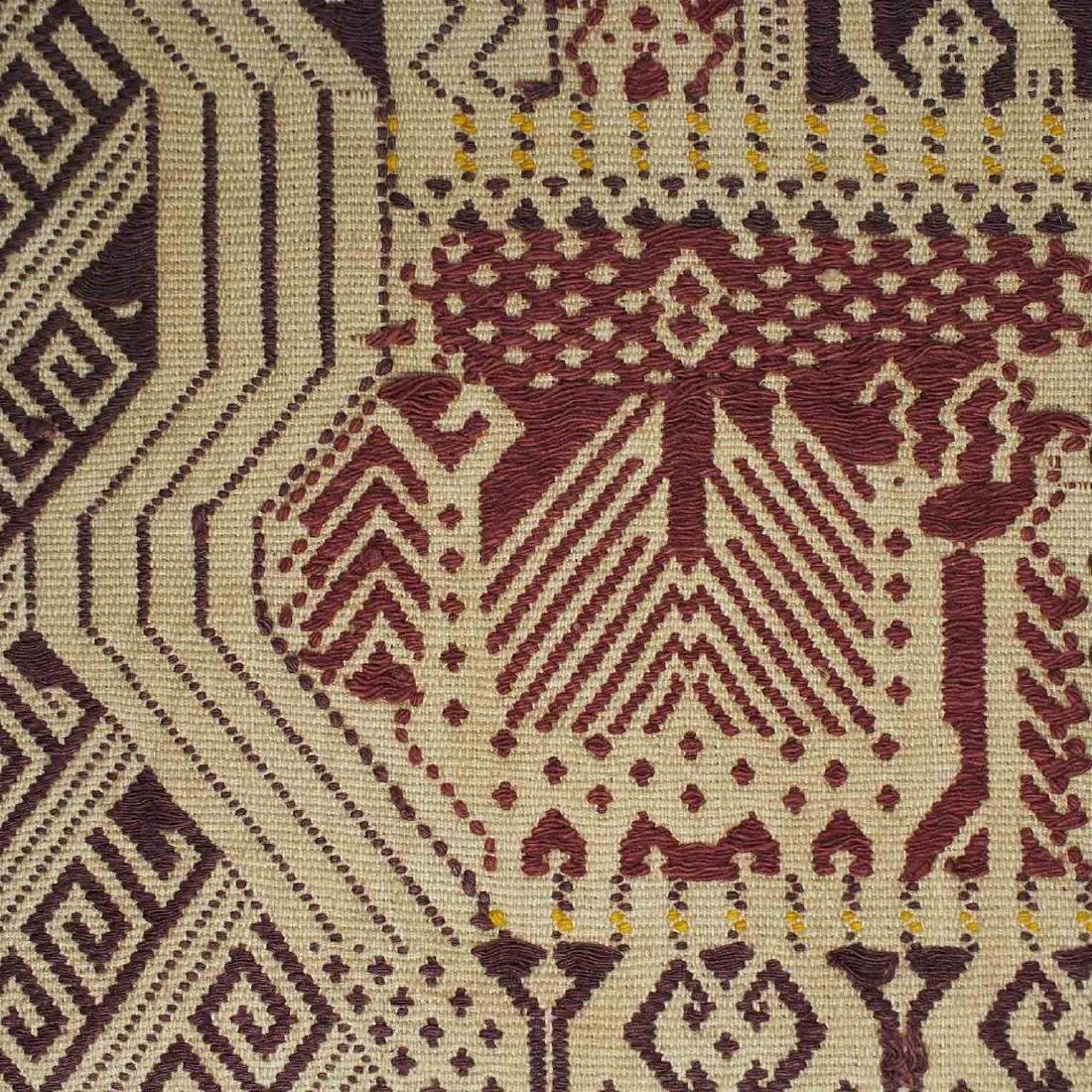 Old Carpet with Typical Lampung Design, Lampung - 3