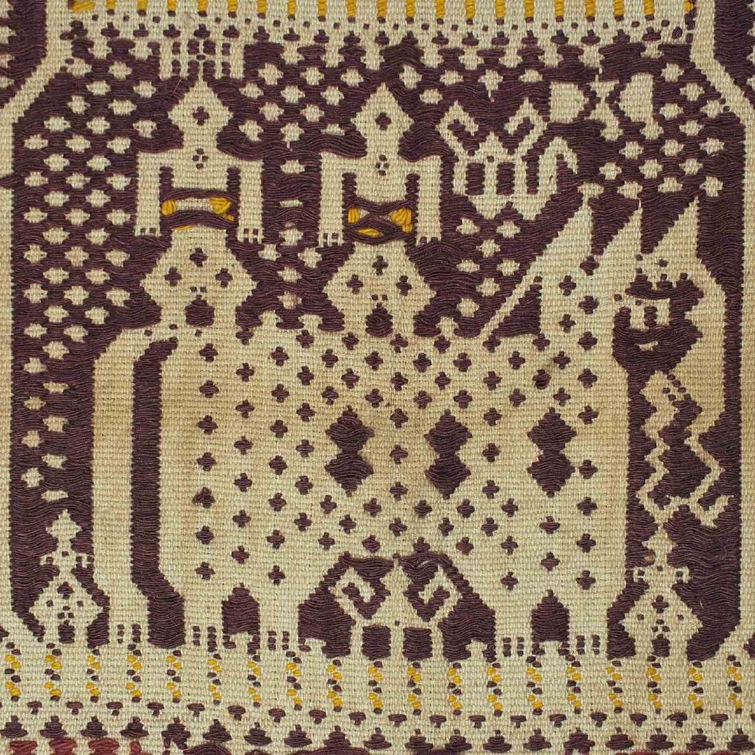 Old Carpet with Typical Lampung Design, Lampung - 4