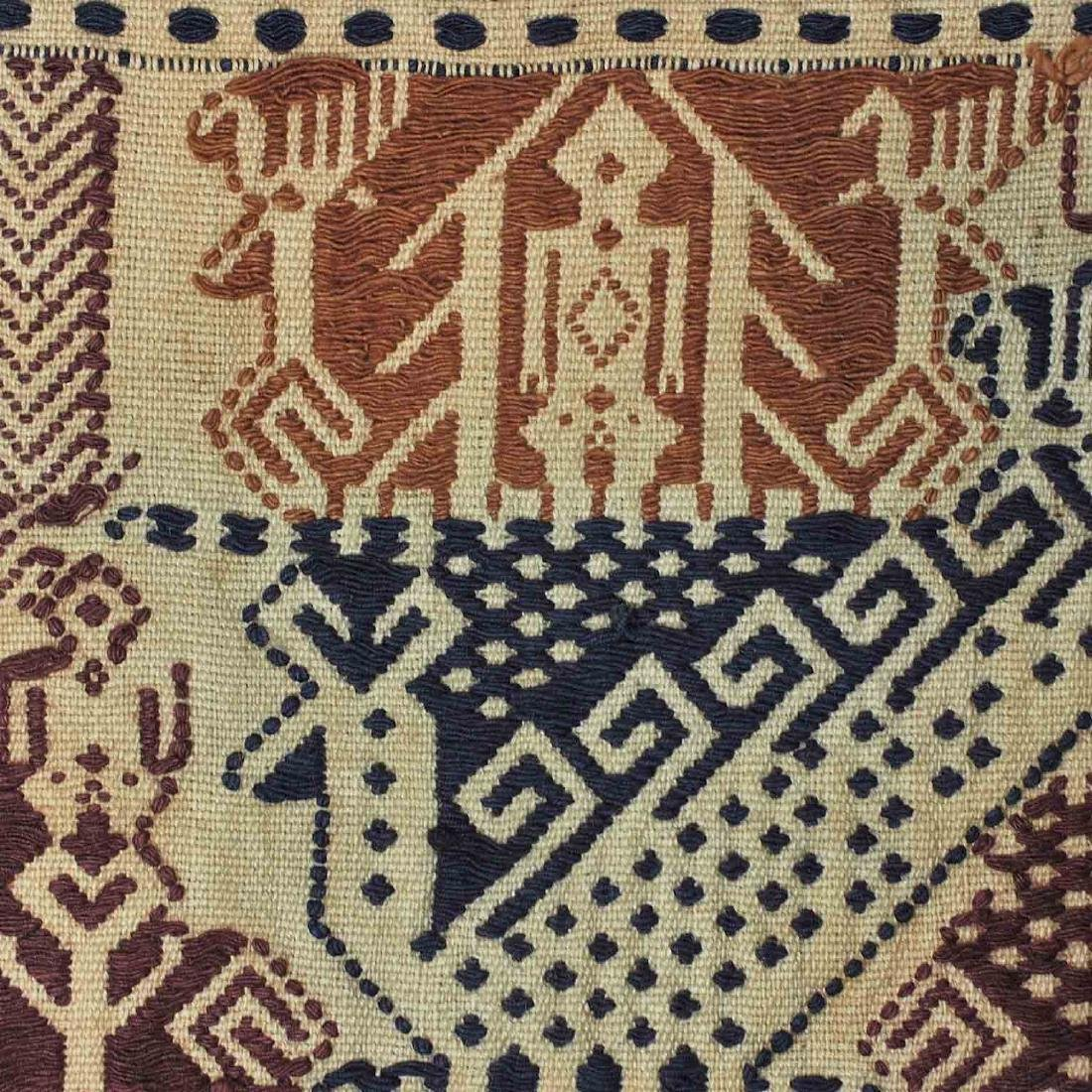 Old Carpet with Typical Lampung Design, Lampung - 5