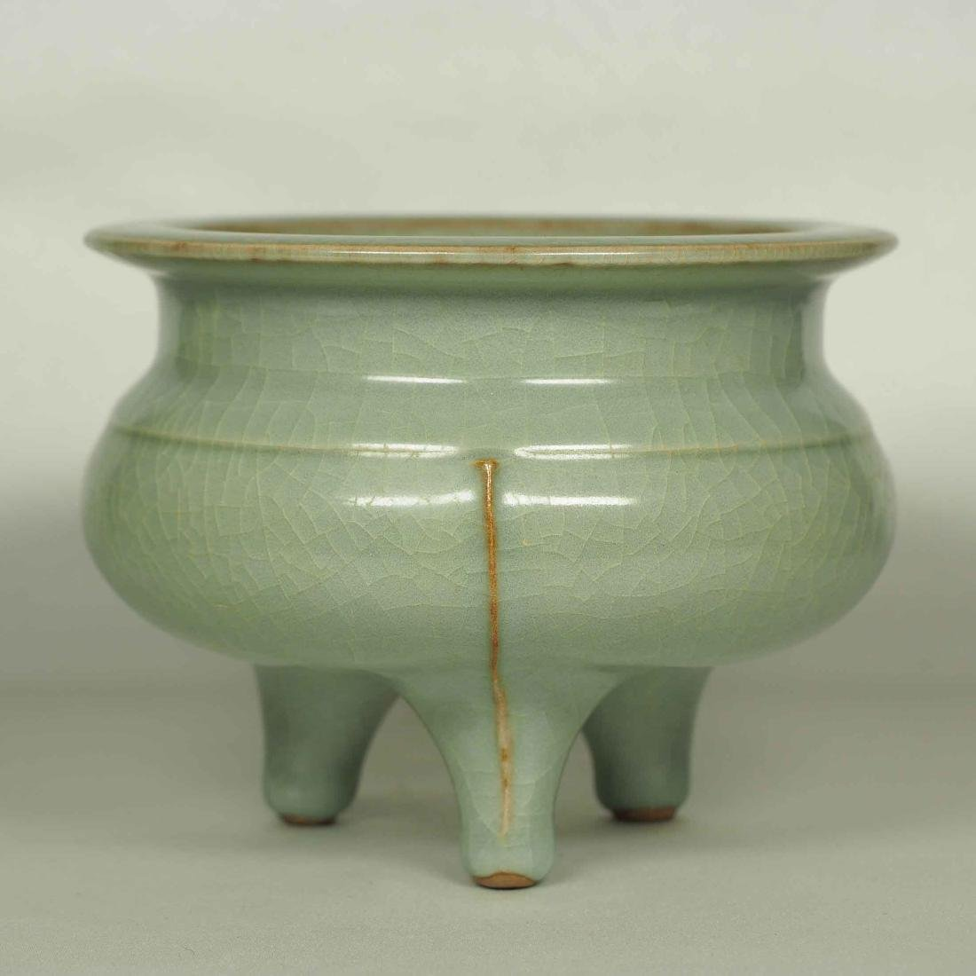 Longquan Tripod Censer, Southern Song Dynasty