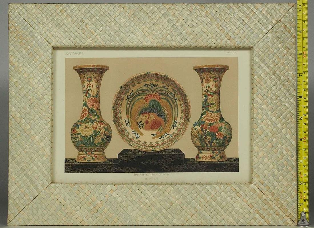 Satsouma, Ceramic Art of Japan, Lithograph by Firmin