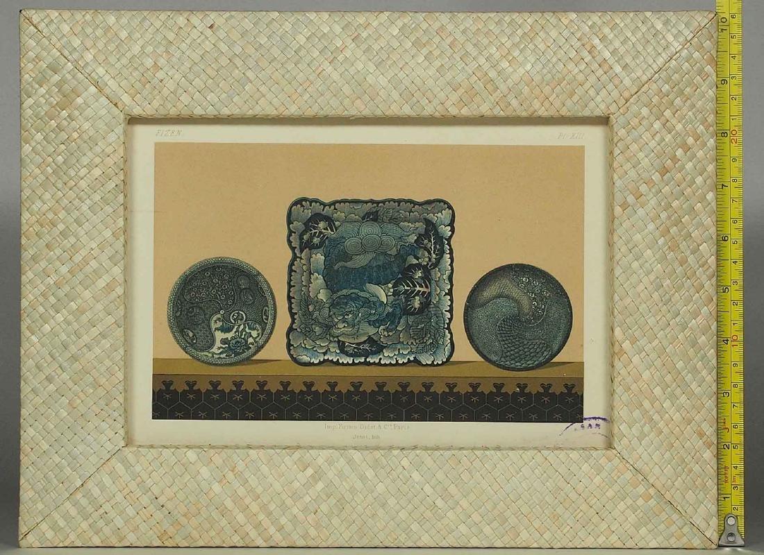 Fizen, Ceramic Art of Japan, Lithograph by Firmin Didot