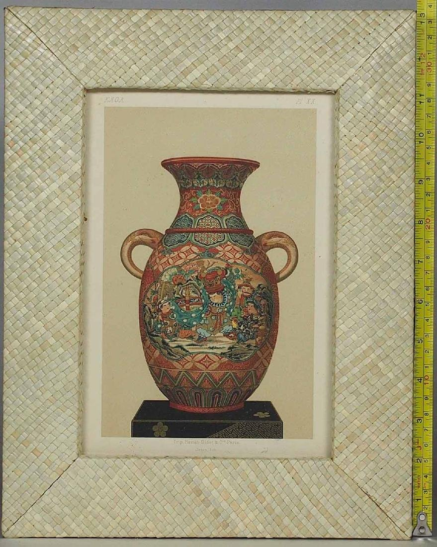 Kaga, Ceramic Art of Japan, Lithograph by Firmin Didot