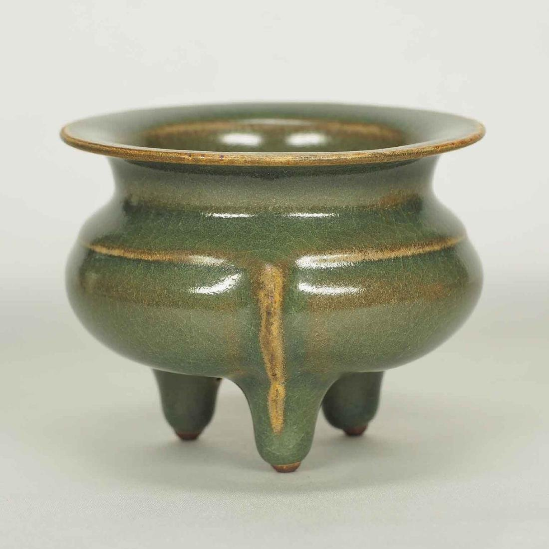 Xikou Guan Tripod Censer, Song Dynasty