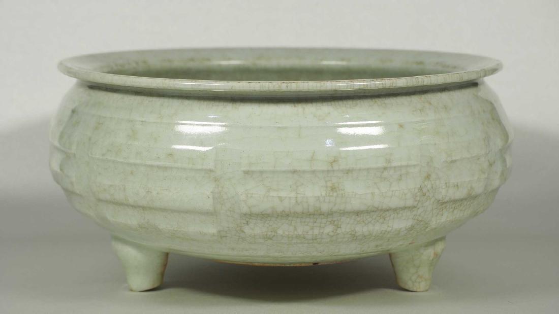 Qingbai Censer with Trigram, Yuan Dynasty