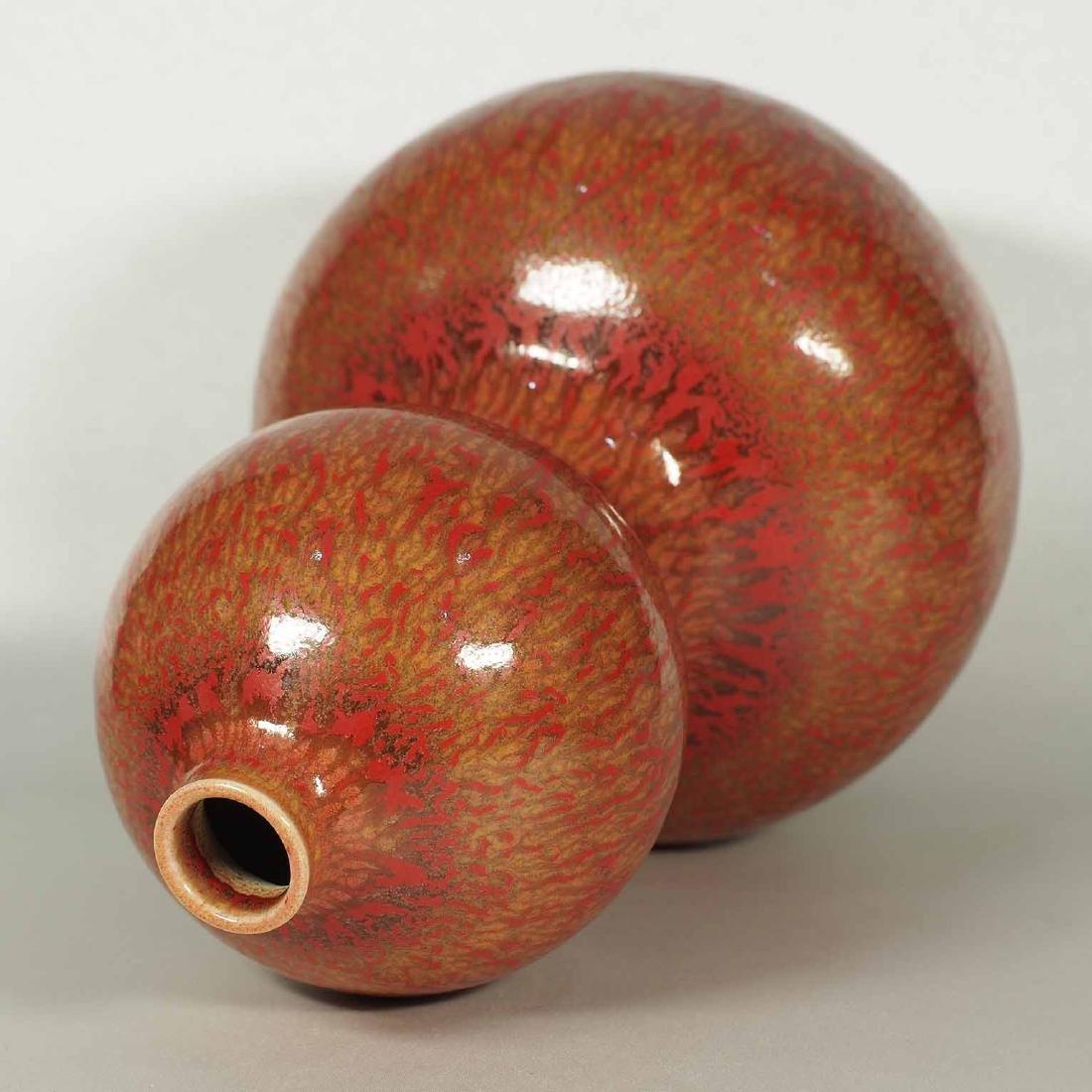 Double Gourd Vase, Kangxi Mark, 18th C Qing Dynasty - 5