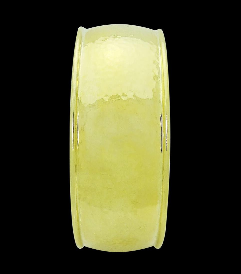 Ippolita 18k Yellow Gold 25mm Hammered Gladiator Cuff - 4