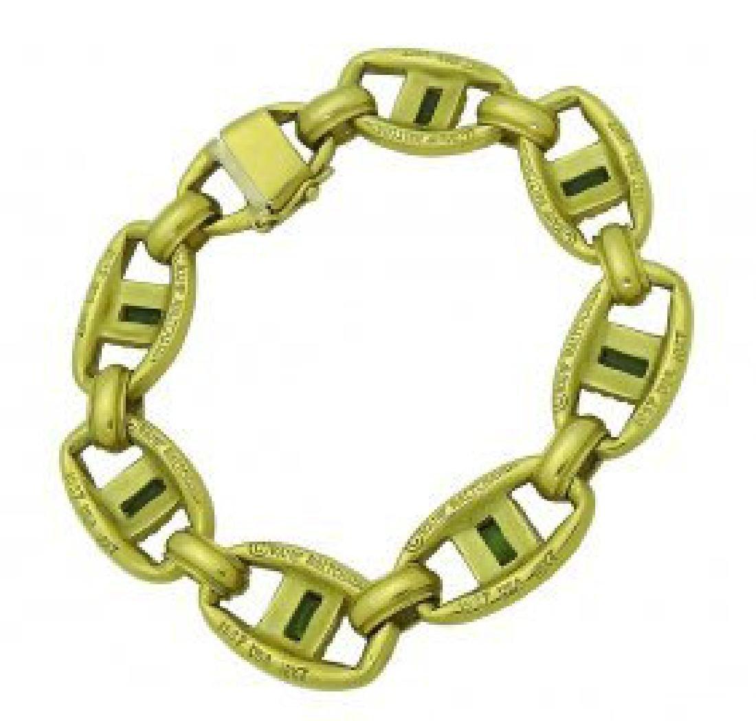 Vahe 18k Yellow Gold & Tourmaline Bracelet