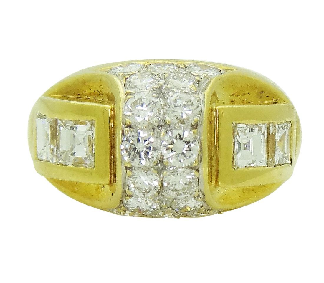18K Yellow Gold 2.6 TCW Diamond Band Ring