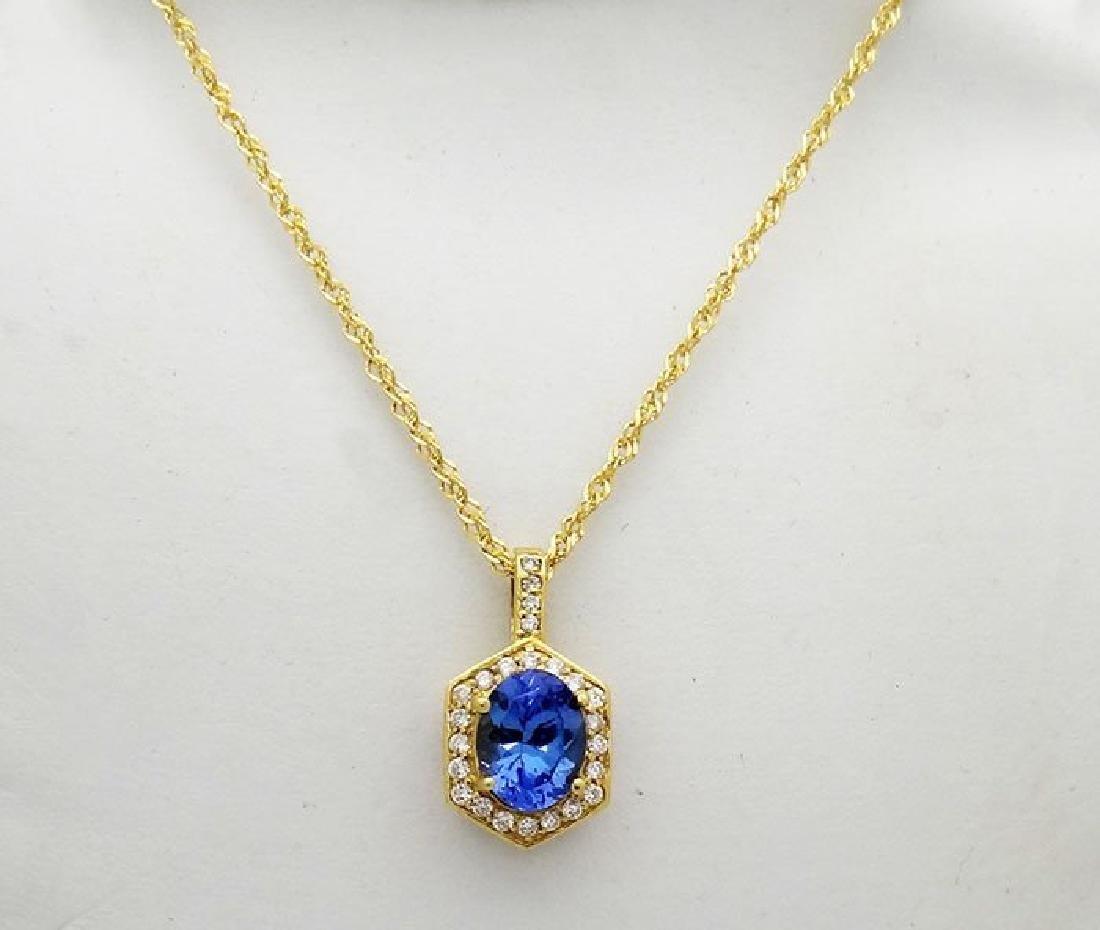 Dazzling 18K Yellow Gold 3.25 Carats TCW Diamond