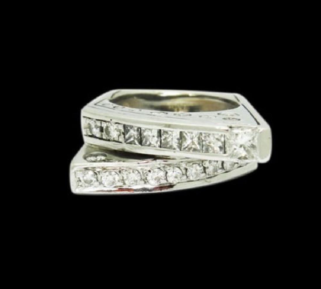 14k Gold 2.00 Carat TCW SI1-2 G-H Diamond Ring