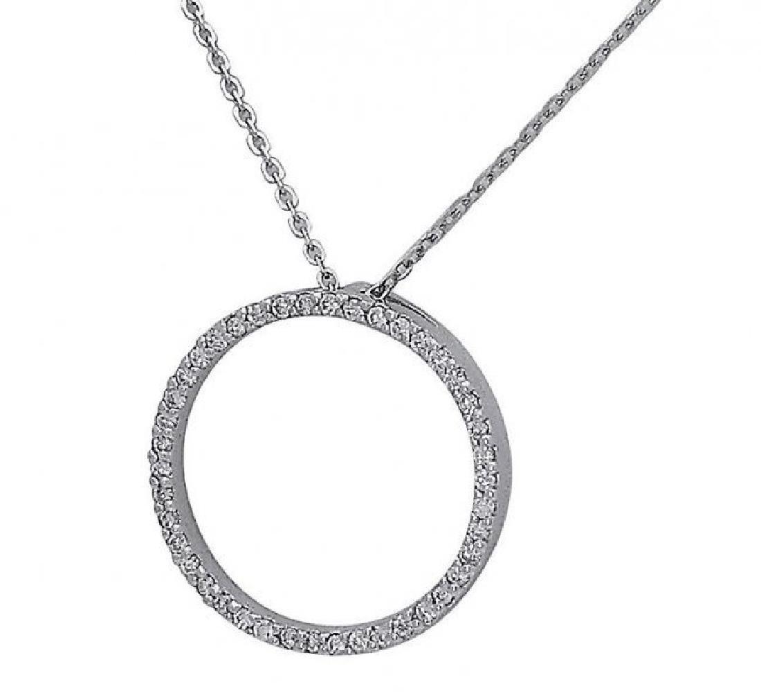 Roberto Coin 18k Gold Circle Of Life Diamond Pendant