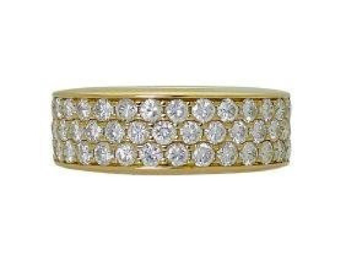 18K Yellow Gold 1.00 TCW Round Brilliant Diamond Ring