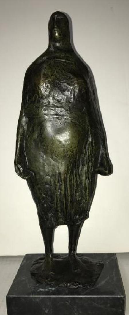 Mexican Bronze Sculpture Francisco Zuniga