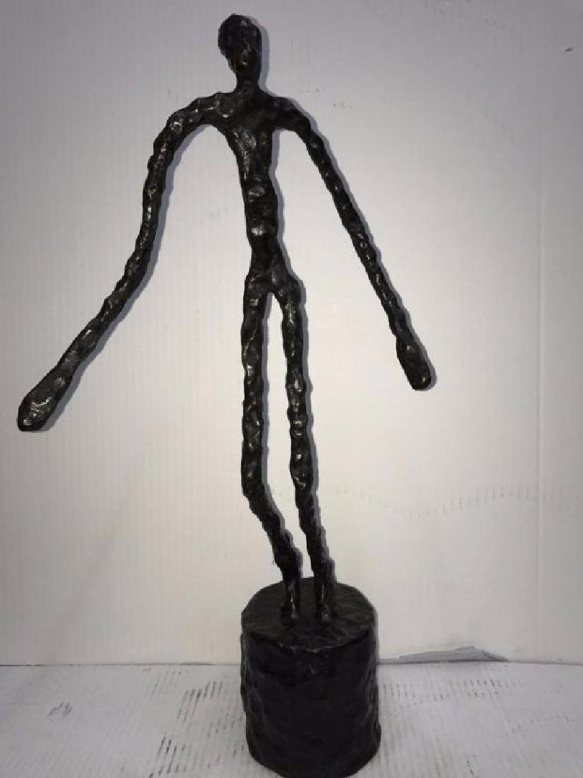 SWISS BRONZE SCULPTURE A. GIACOMETTI BRONZE