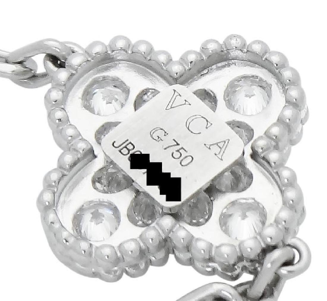 Van Cleef & Arpels 18k Sweet Alhambra Diamond Bracelet - 3