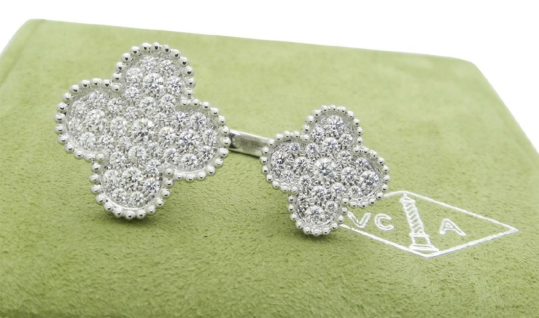 Van Cleef & Arpels Diamonds Alhambra Between the Finger