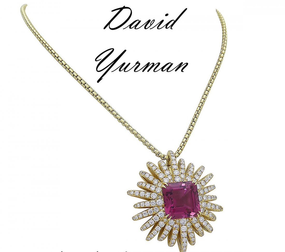 David Yurman 18k Starburst Collection Necklace