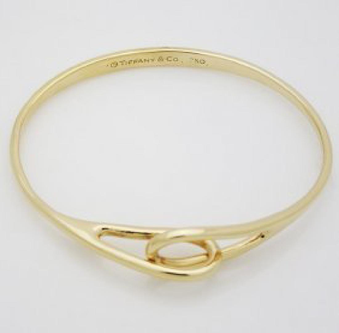 Tiffany & Co 18k Yellow gold bracelet 1990 Edition