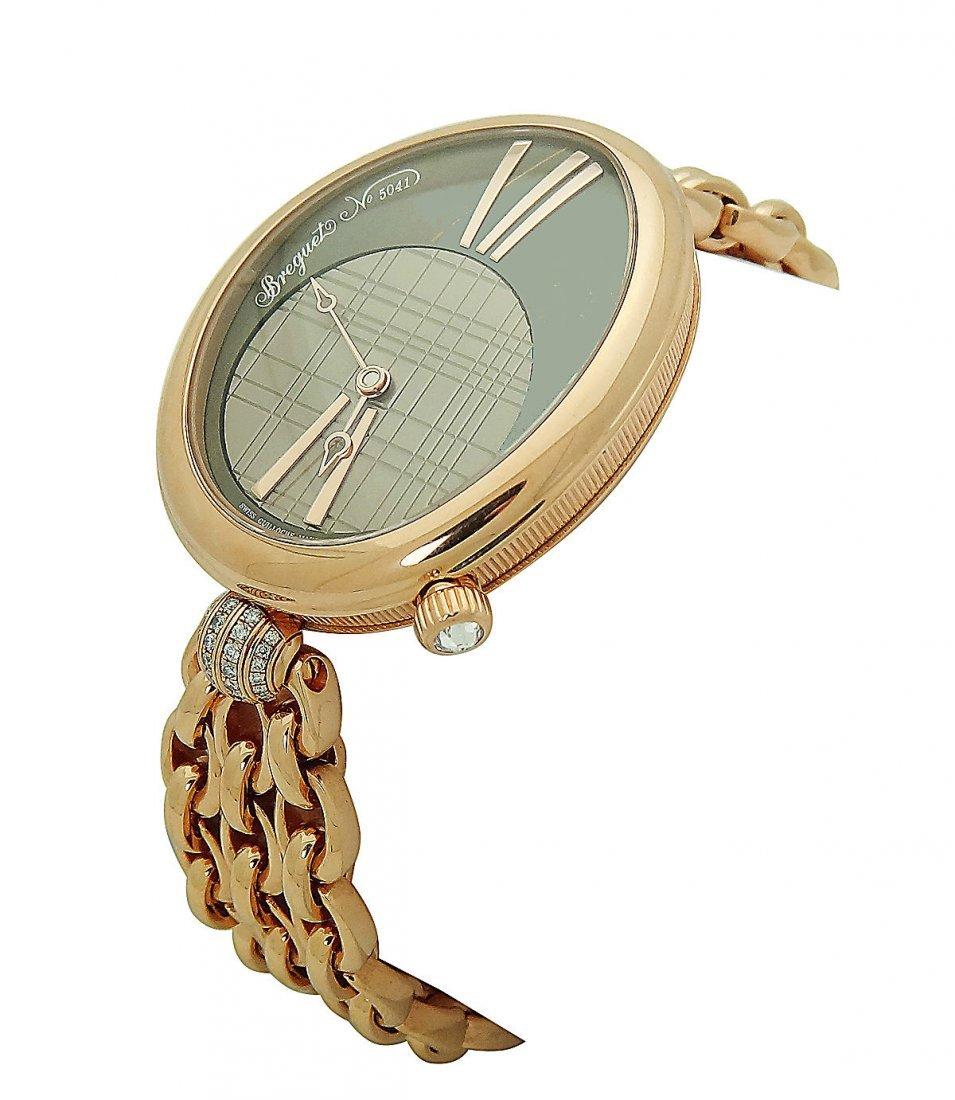 Breguet Reine De Naples 18k  Automatic Bracelet Watch