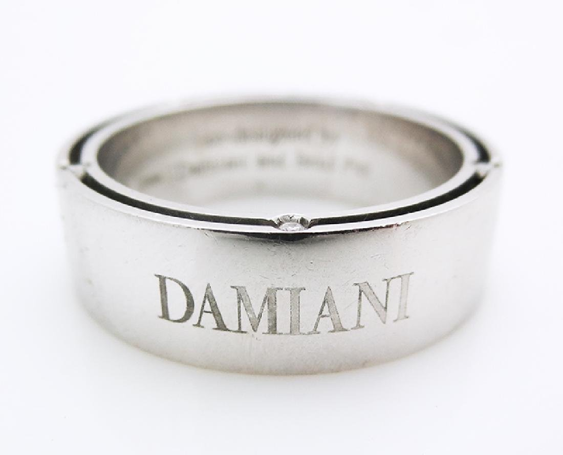 Damiani Platinum & Diamond Eternity ring size 11