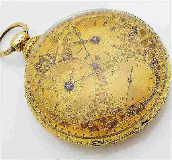 Antique Tobias Liverpool 18K Gold18 Jewel Pocket Watch