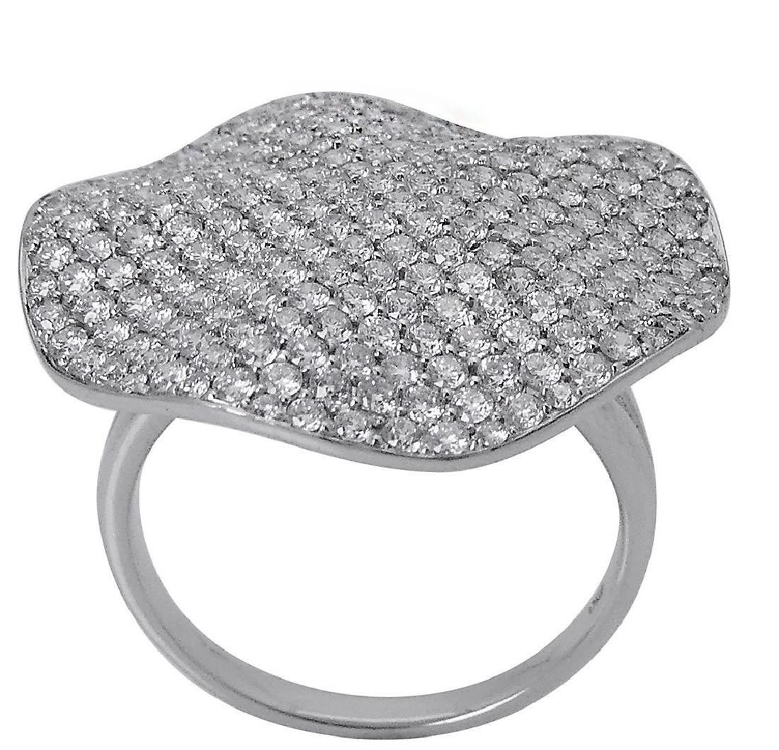 18k White Gold 2.00 TCW Round Brilliant Diamond Ring - 2