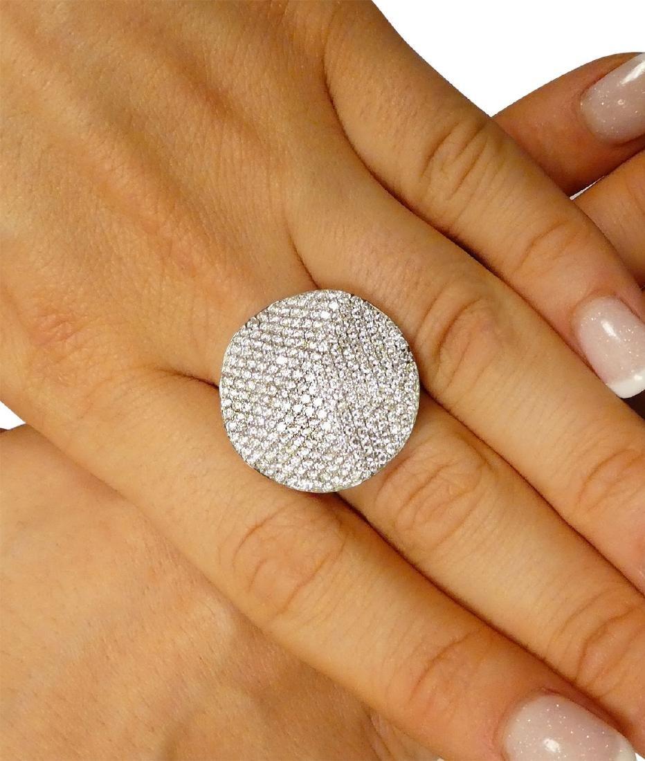 18k White Gold 2.00 TCW Round Brilliant Diamond Ring - 6