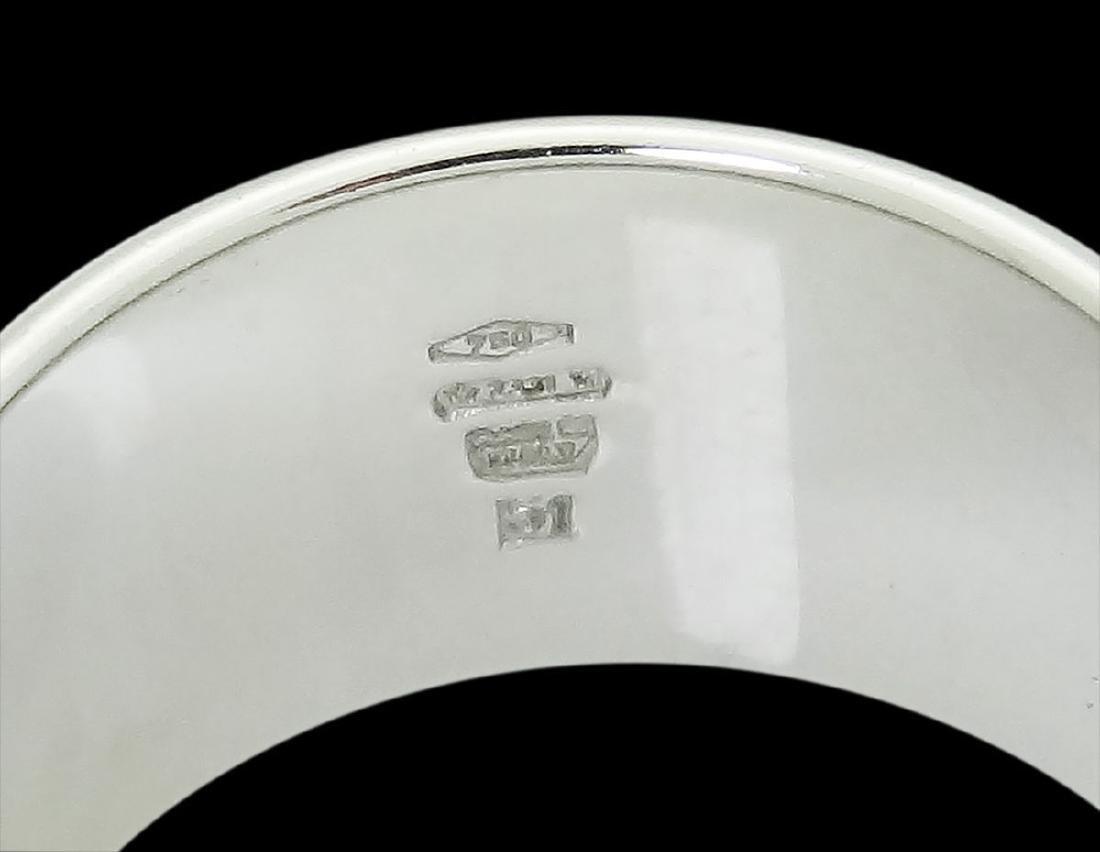 Bvlgari Bulgari 18k Gold & 0.38 Diamond Band Ring - 5