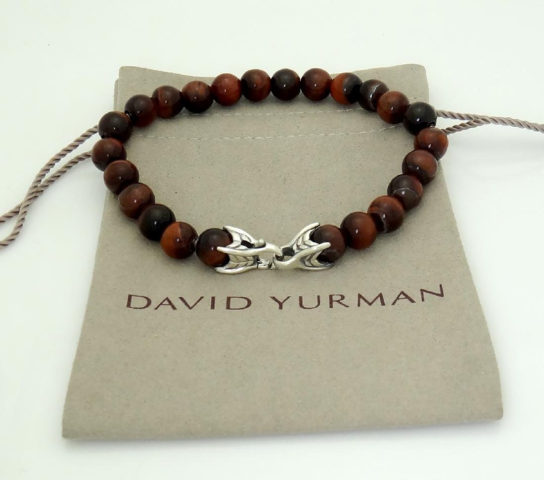 DAVID YURMAN Sterling Silver Spiritual Beads Bracelet - 4