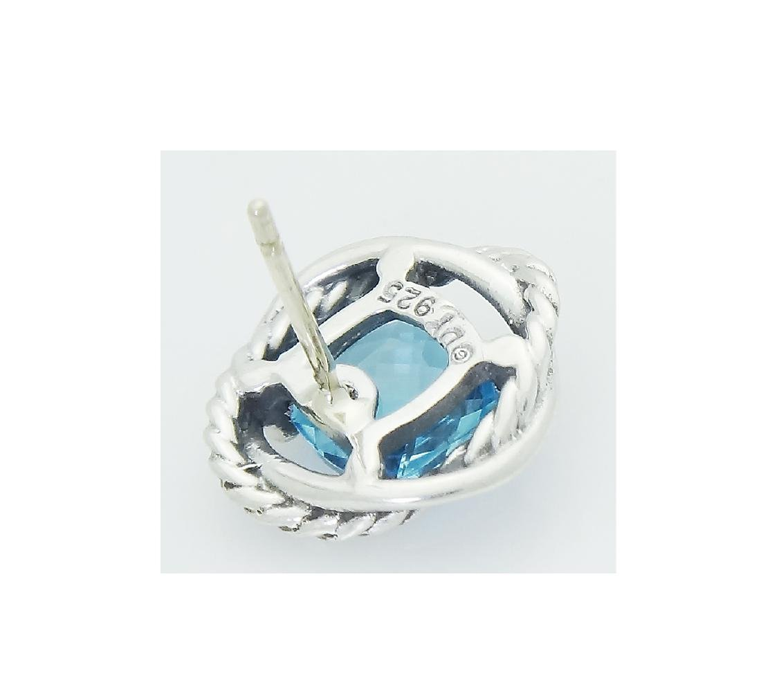DAVID YURMAN Sterling Silver Blue Topaz Infinity - 4