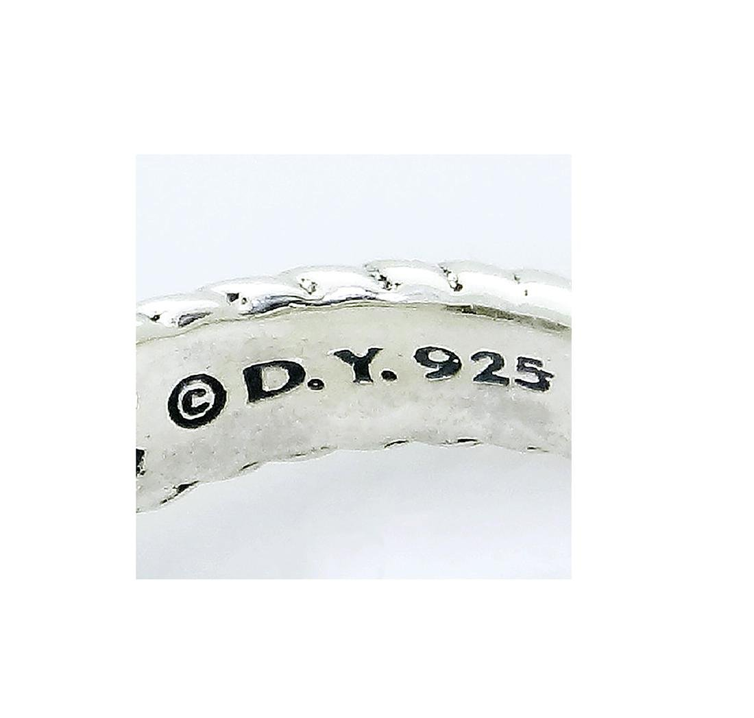 DAVID YURMAN Petite Wheaton Sterling Silver Chalcedony - 5