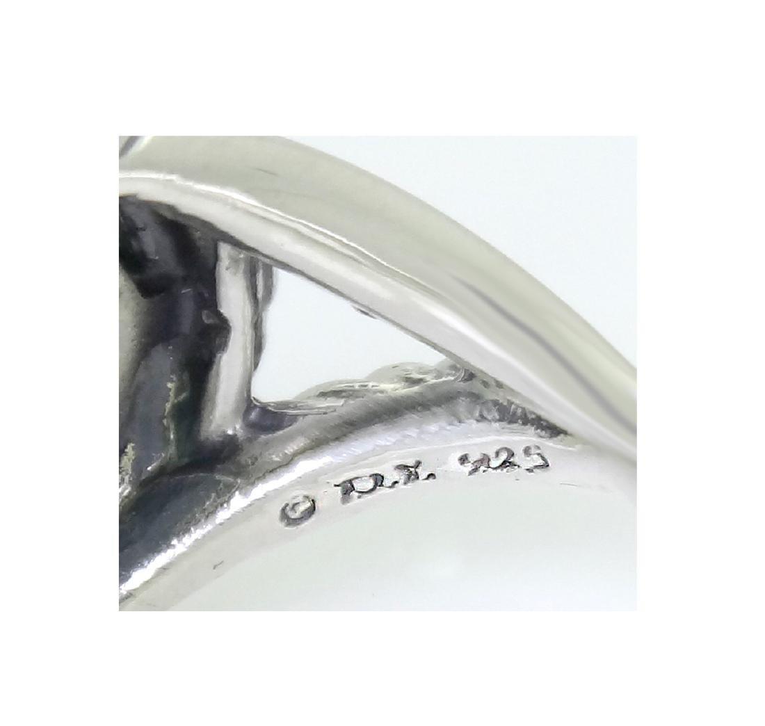 DAVID YURMAN Sterling Silver Infinity Prasoilite 11mm. - 3
