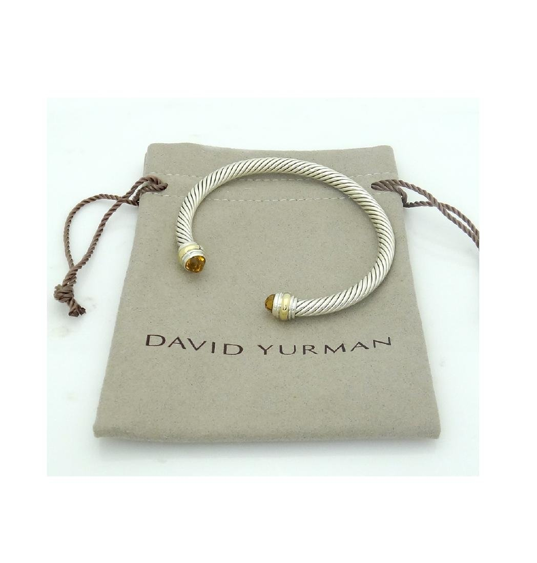 David Yurman 925  Cable Classic 5mm  Bracelet with - 2