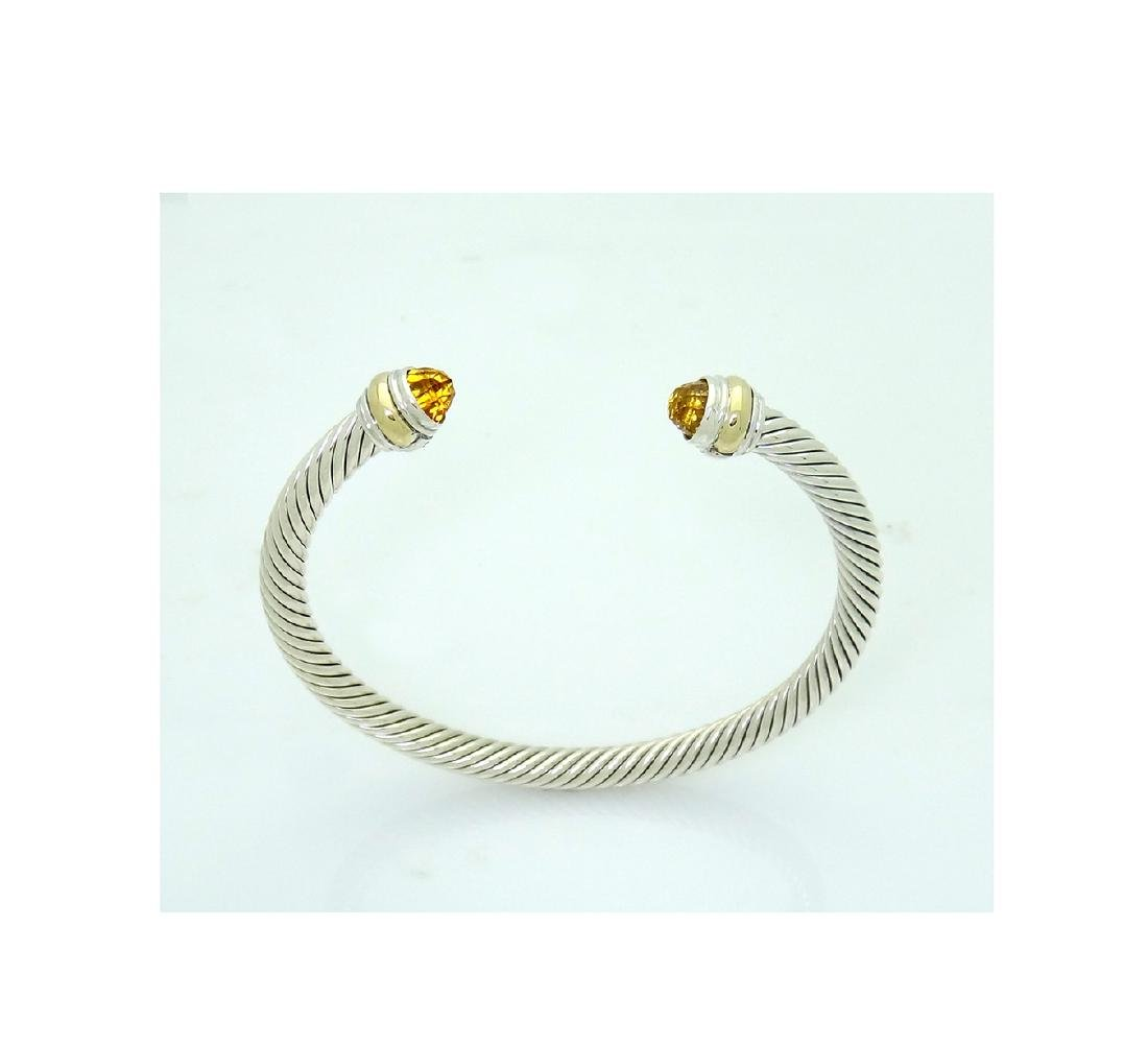 David Yurman 925  Cable Classic 5mm  Bracelet with - 3