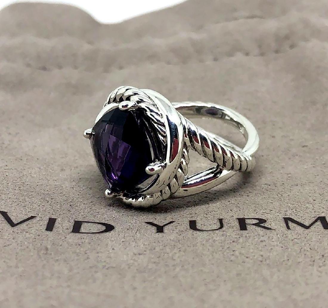 David Yurman Sterling Silver Infinity 11mm Amethyst - 2