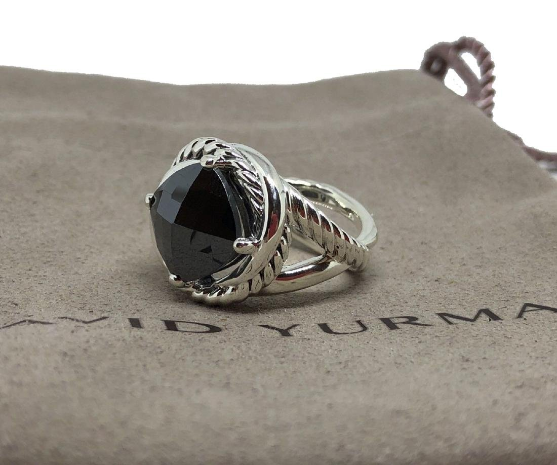 David Yurman Sterling SilverInfinity 11mm Black Onyx