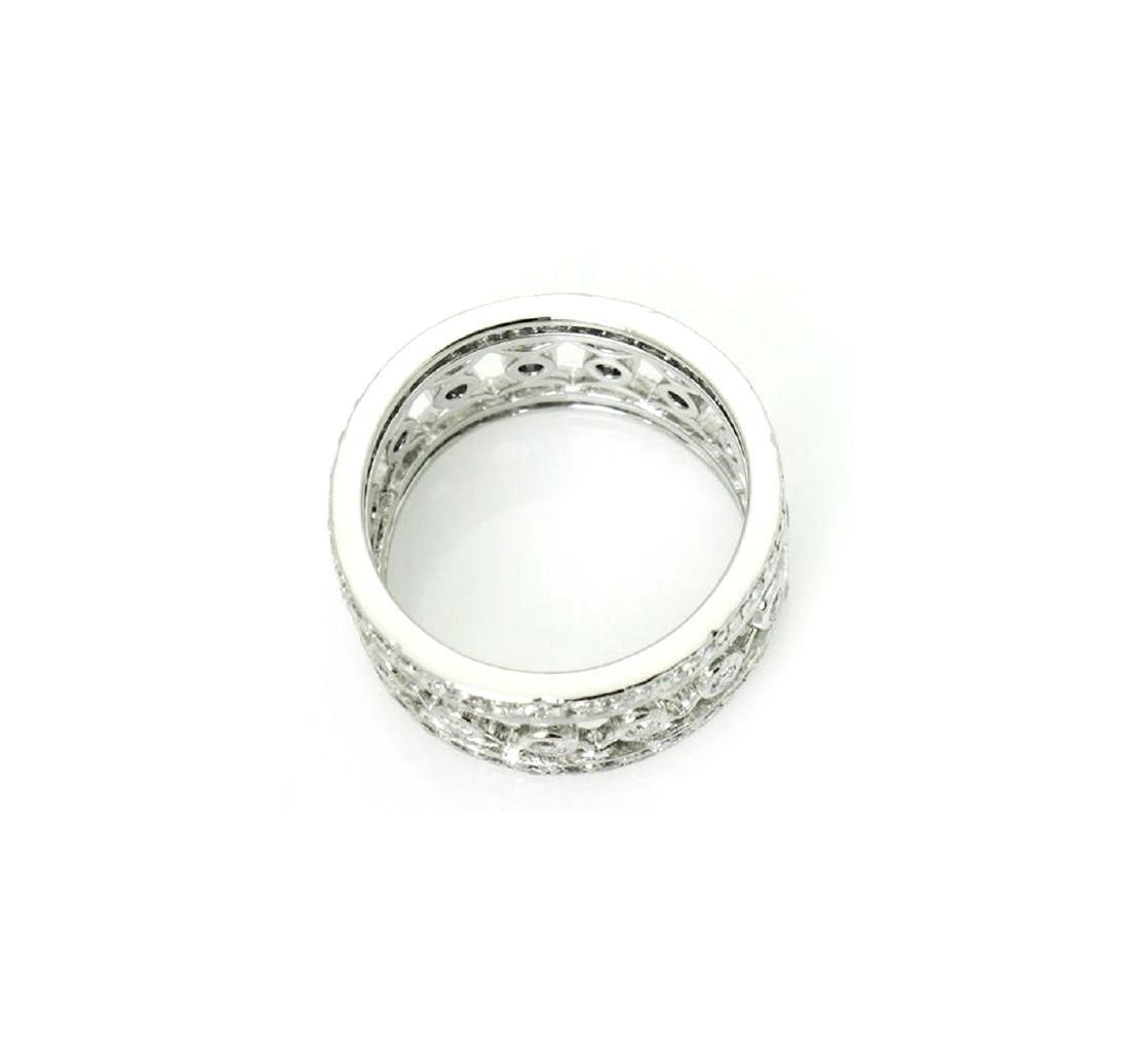 Platinum 1.27 carat VS G Diamond Lattice Bracelet - 5