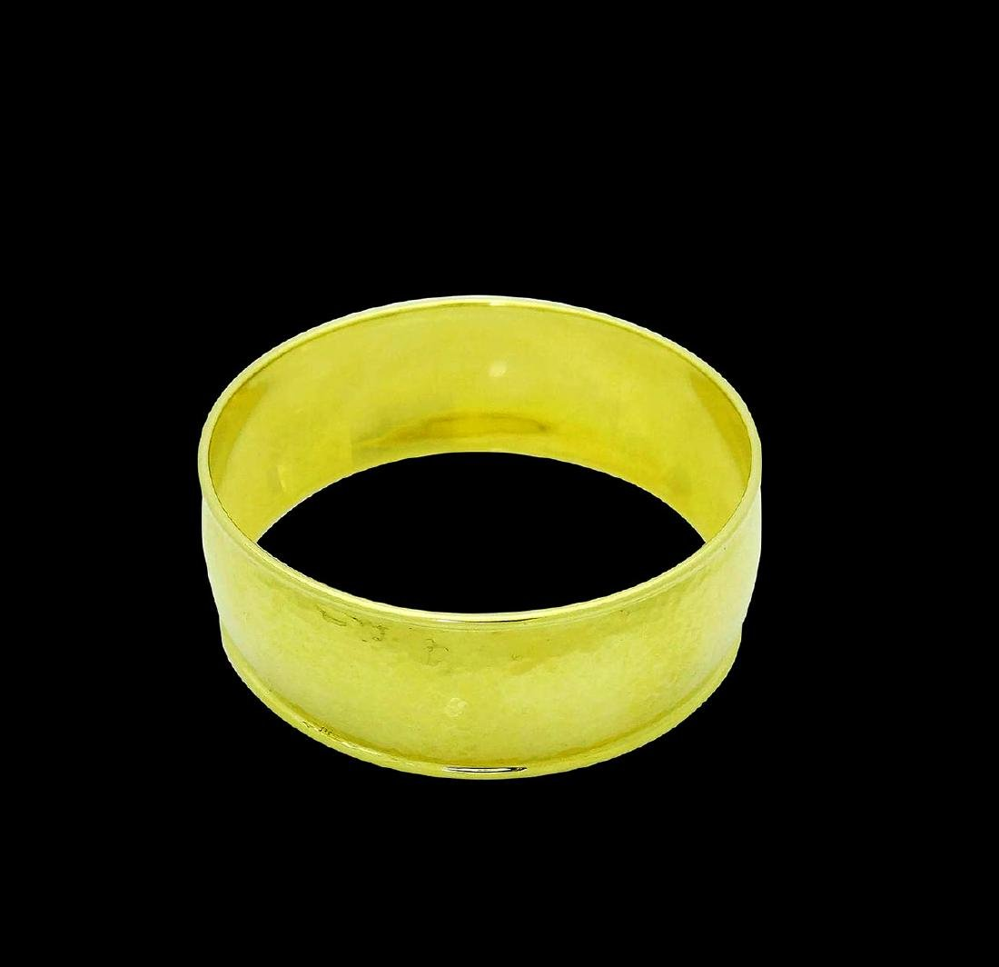 Ippolita 18k Yellow Gold 25mm Hammered Gladiator Cuff - 3