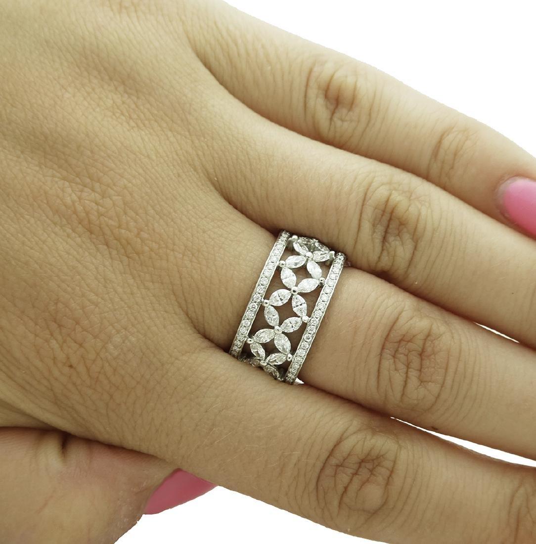 Tiffany & Co Victoria over 2.35 TCW Diamond Band in