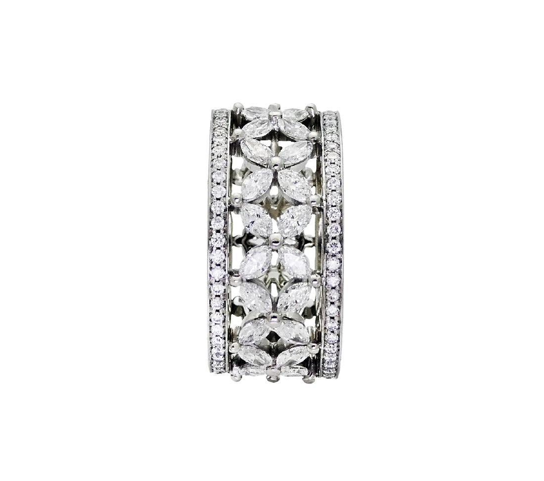 Tiffany & Co Victoria over 2.35 TCW Diamond Band in - 2
