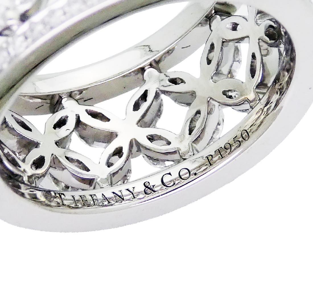 Tiffany & Co Victoria over 2.35 TCW Diamond Band in - 4