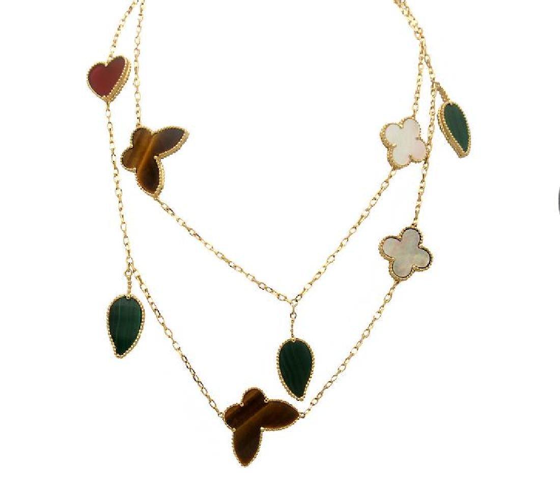 Van Cleef & Arpels Gold 12 motif Lucky Alhambra