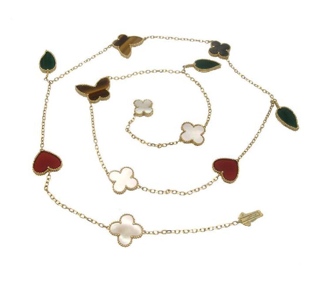 Van Cleef & Arpels Gold 12 motif Lucky Alhambra - 3