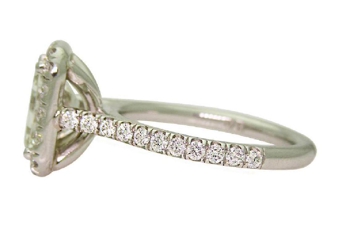 Platinum 3.5 TCW Diamond Engagement Ring size 7 - 2