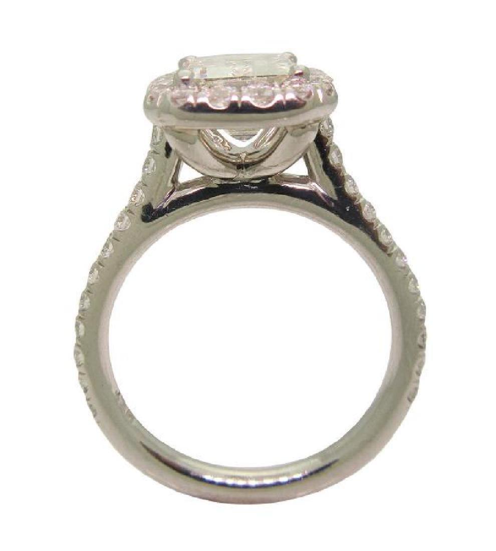 Platinum 3.5 TCW Diamond Engagement Ring size 7 - 3