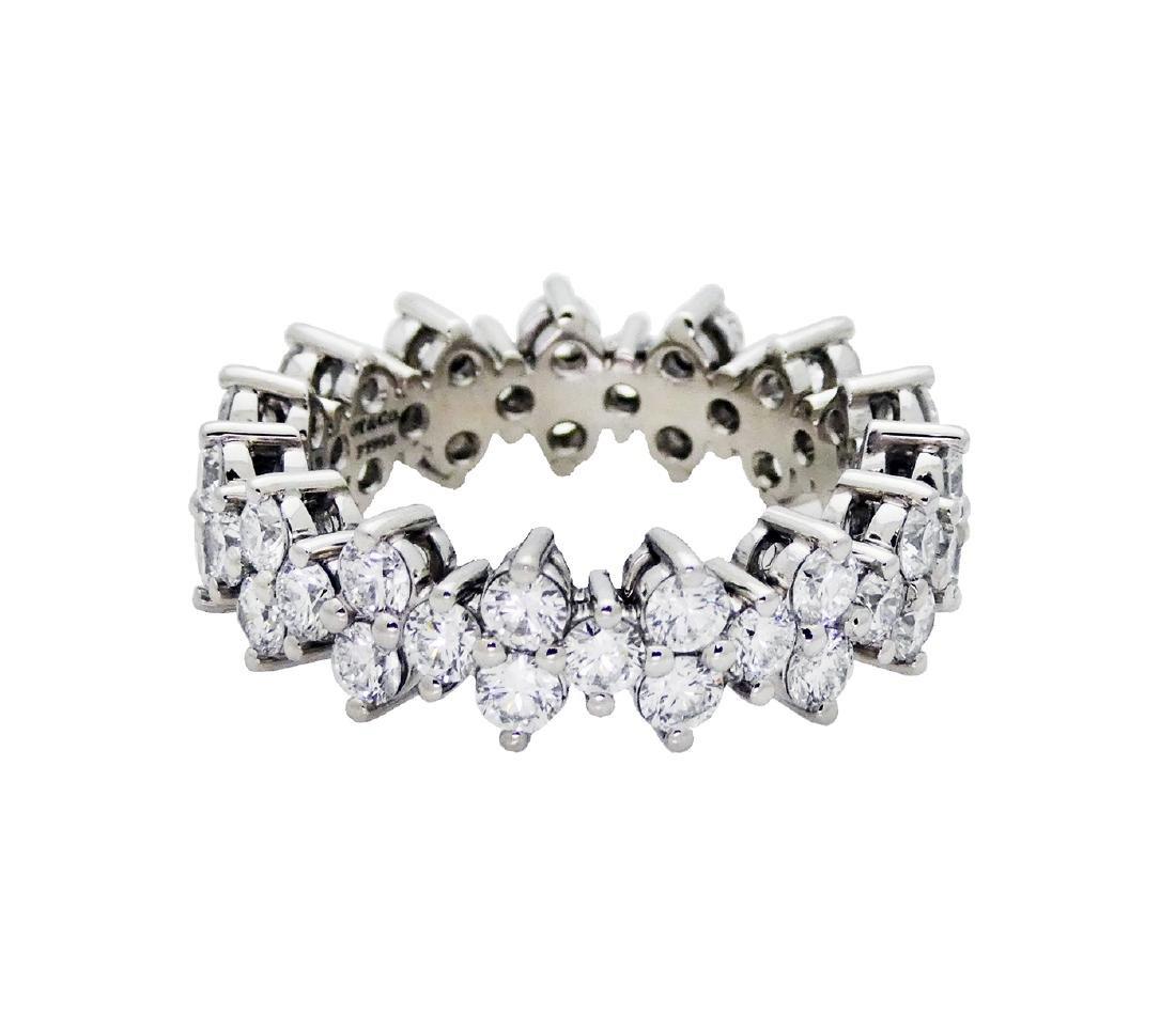 Tiffany & Co Aria Diamond Ring in Platinum 950 SZ6 - 3